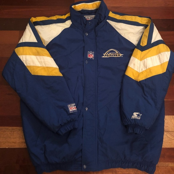 official photos 01fe9 45335 Vintage St Louis Rams Starter jacket